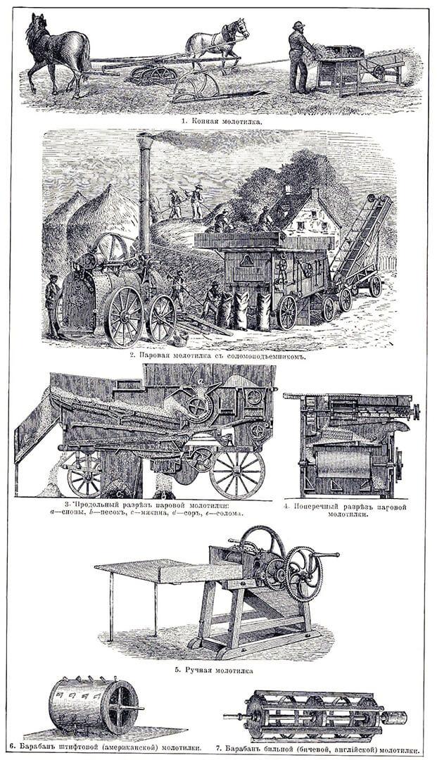 Эволюция зерноочистительных машин